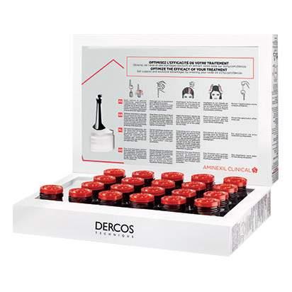 Сыворотка для волос VICHY Dercos Aminexil Intensive 5 Для женщин 21*6 мл