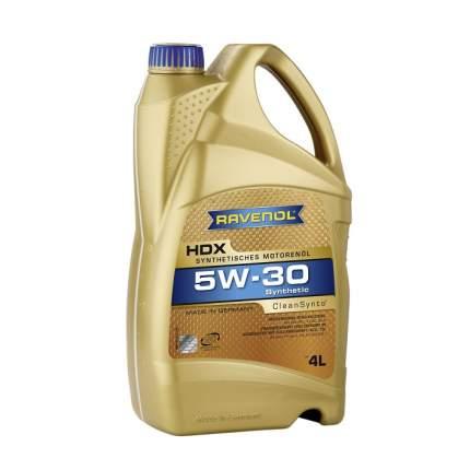 Моторное масло Ravenol HDX 5W-30 4л