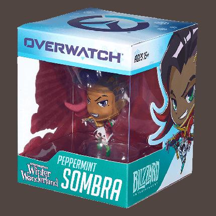 Фигурка Cute But Deadly Games: Overwatch: Sombra