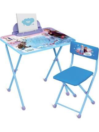 Комплект детской складной мебели Nika Холодное сердце 2 со столом и стулом, от 3 до 7 лет