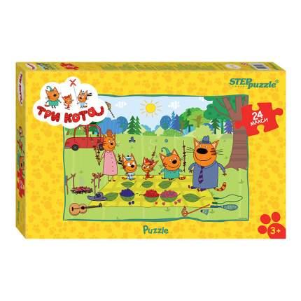 Пазл Step Puzzle Maxi Три кота 24 детали
