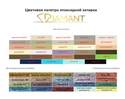 Затирка эпоксидная 036 Диамант светло-коричневый 1 кг