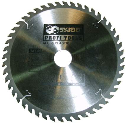 Пильный диск ALU PLASTIC 216х30мм 60Т Skrab 34146