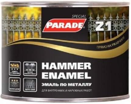 Эмаль по металлу Parade Z1 гладкая  543-102 Черный 0,45л