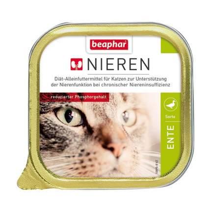 Влажный корм для кошек Beaphar Nieren Ente, утка, 100г
