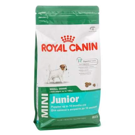 Сухой корм для щенков мелких пород Royal Canin Mini Puppy, птица, 800 г.