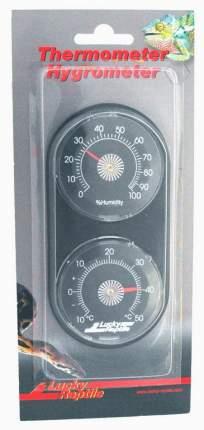 Термометр-гигрометр для террариумов Lucky Reptile пластиковый, механический