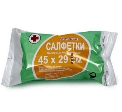 Салфетки для животных ВераМед стерильные, 45х29см №5, 10 гр