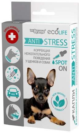 Арома-капли для щенков и собак Mr. Bruno Ecolife Анти Стресс, 10 мл, 40 гр
