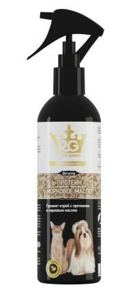 Спрей для кошек и собак APICENNA Royal Groom с Протеином и Норковым маслом, 200 мл