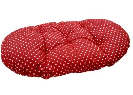 Лежанка для кошки, собаки Родные места текстиль 33x45x5см красный