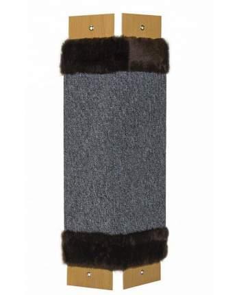 Когтеточка Сибирская кошка Эконом Угловая ковролиновая,67х24х1.8см