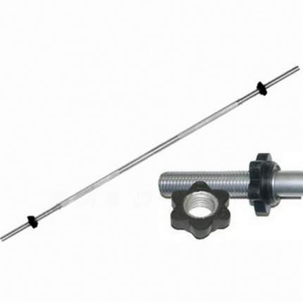 Титан d 26 мм хромированный 1800 мм, замок-гайка