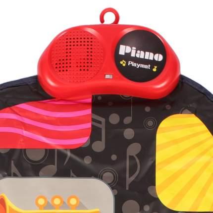 Игровой музыкальный коврик Happy Baby GRAMMIX, 8 музыкальных инструментов, разноцветный