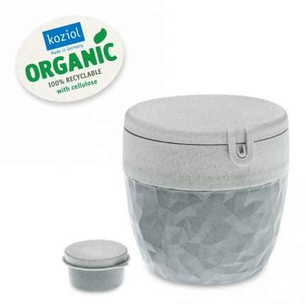 Ланч-бокс Club Bento Organic серый