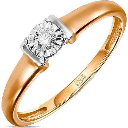 Кольцо женское Лукас-Голд R01-D-L-PL-35013 р.16.5