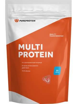 Многокомпонентный протеин Pure Protein Multi Protein (клубника со сливками), 1000г
