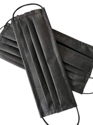 Маски одноразовые защитные PPE пятислойные из нетканого материала 50 шт.