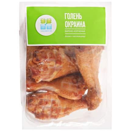 Голень цыпленка в/к в/у вес окраина 400 г