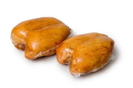 Грудки кур варено-копченые ту упак вес 400 г