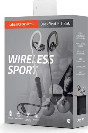 Беспроводные наушники Plantronics BackBeat Fit 350 Grey/Bone