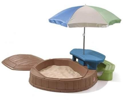 Песочница Step 2 со столиком