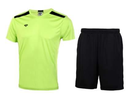 Комплект спортивной формы AS4 A14 - 609 03 341, lime/black, 44 RU