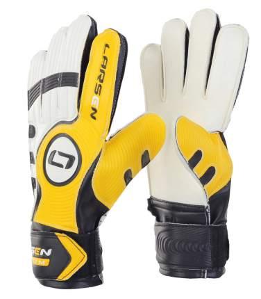 Вратарские перчатки Larsen Radium, желтые/белые, 5