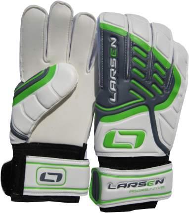 Вратарские перчатки Larsen Aggressive, зеленые/белые, 8