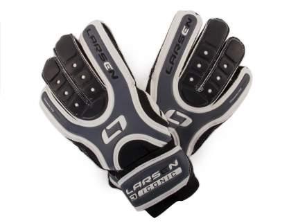 Вратарские перчатки Larsen Iconic, серые/белые, 9