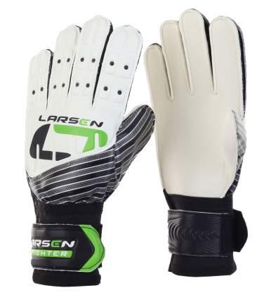 Вратарские перчатки Larsen Fighter, зеленые/белые, 5