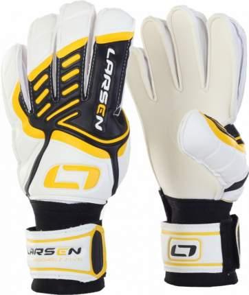 Вратарские перчатки Larsen Aggressive, желтые/белые, 9