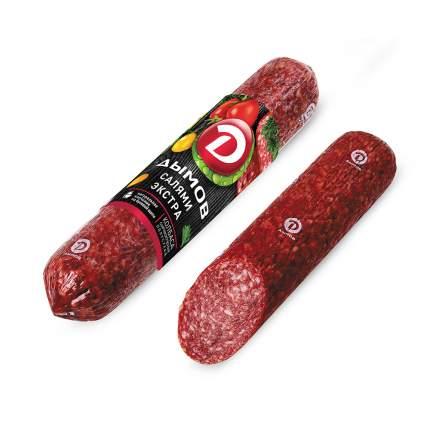 Колбаса салями экстра с/к в/у 235г дымов