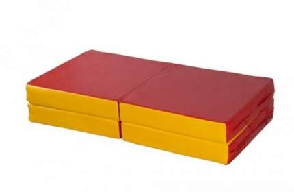 КМС № 11 (100 х 100 х 10) складной 4 сложения красно/желтый