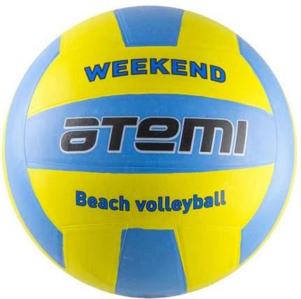"""Мяч """"Atemi"""" волейбольный """"Weekend"""", желто-голубой"""