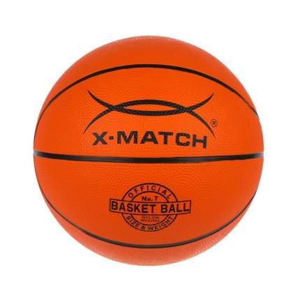 """Мяч баскетбольный """"X-Match"""", ламинированный PVC, размер 7"""