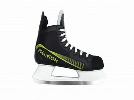 Коньки хоккейные Larsen Phantom, black, 33 RU