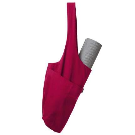 Сумка для йоги Larsen 358823, красный