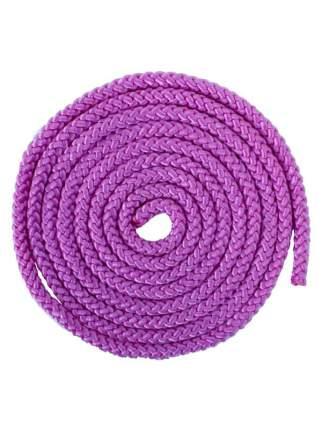 Скакалка гимнастическая, 3 м, 165 г, фиолетовая