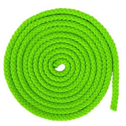 Скакалка гимнастическая, 3 м, 165 г, зеленая