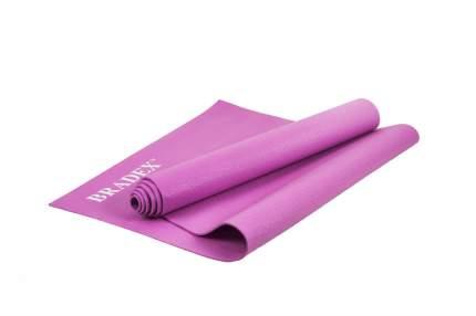 Коврик для йоги, цвет: розовый, 173x61x0,3 см