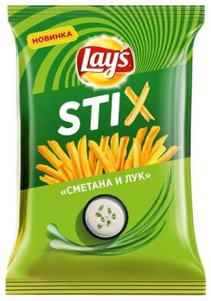 Чипсы lay`s stix сметана-лук 125г