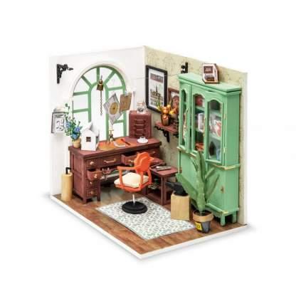 Деревянный конструктор Robotime Миниатюрный дом Студия Джимми