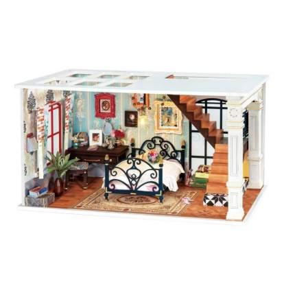 Деревянный конструктор Robotime Миниатюрный дом Парижская полночь