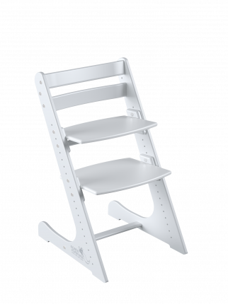 Детский растущий стул Конёк Горбунёк Комфорт Белый