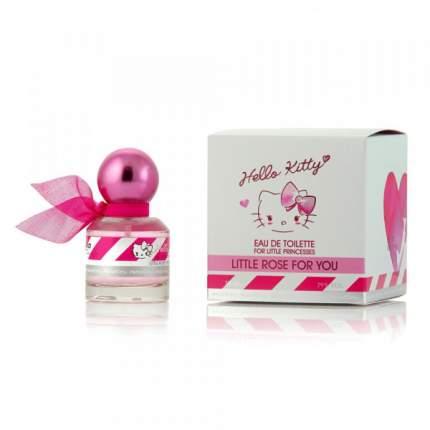 Туалетная вода детская Hello Kitty LITTLE ROSE FOR YOU, 30 мл