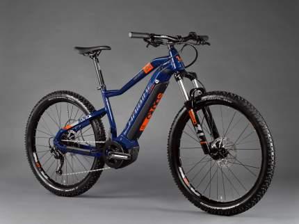"Электровелосипед Haibike SDURO HardSeven 1.5 2020 17.5"" orange/blue/grey"