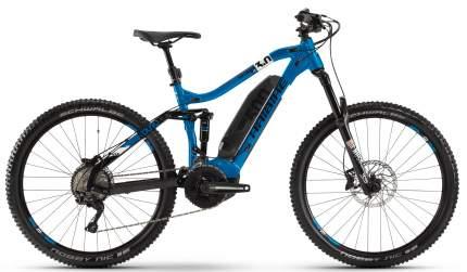"Электровелосипед Haibike SDURO FullSeven LT 3.0 500Wh 2020 19"" blue/black/white"