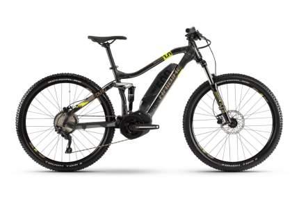 "Электровелосипед Haibike SDURO FullSeven 1.0 2020 17.5"" grey/brown/yellow"