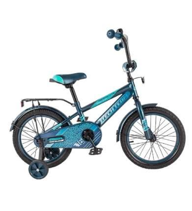 """Детский велосипед Tech Team 134 14"""" синий"""